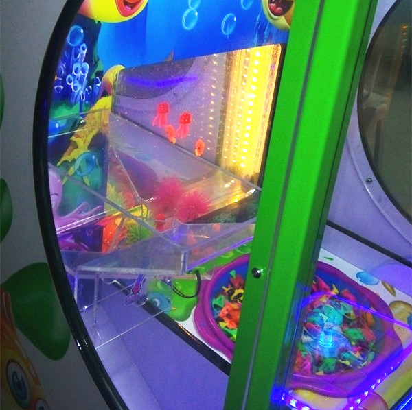 fish claw machine